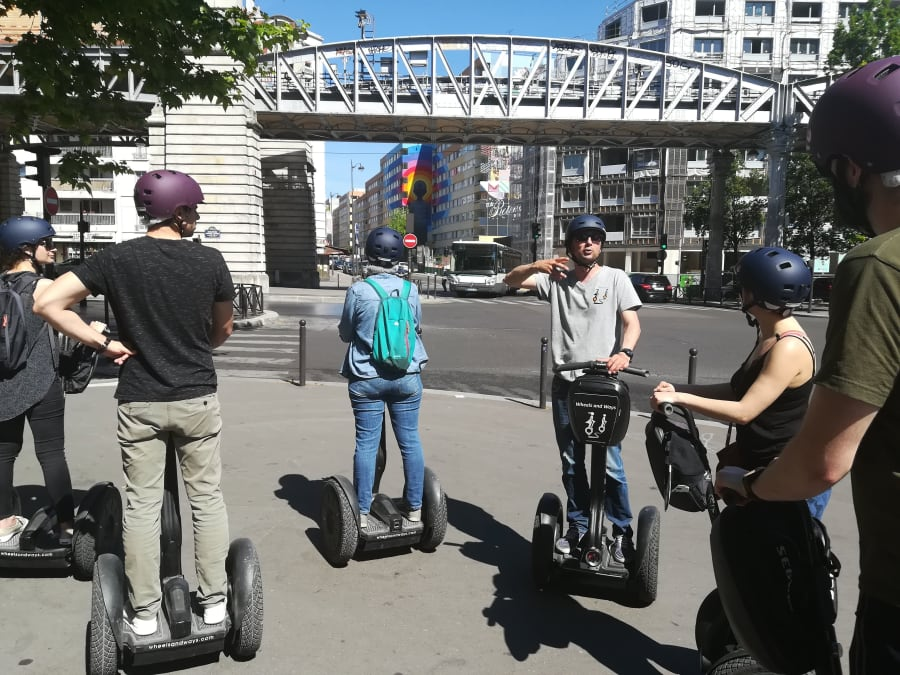 Team Building Street Art Segway Tour à Paris 13ème