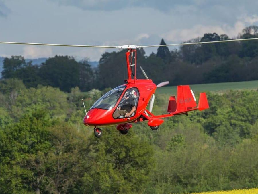 Découverte de l'Auvergne en autogire depuis Saint-Flour (15)
