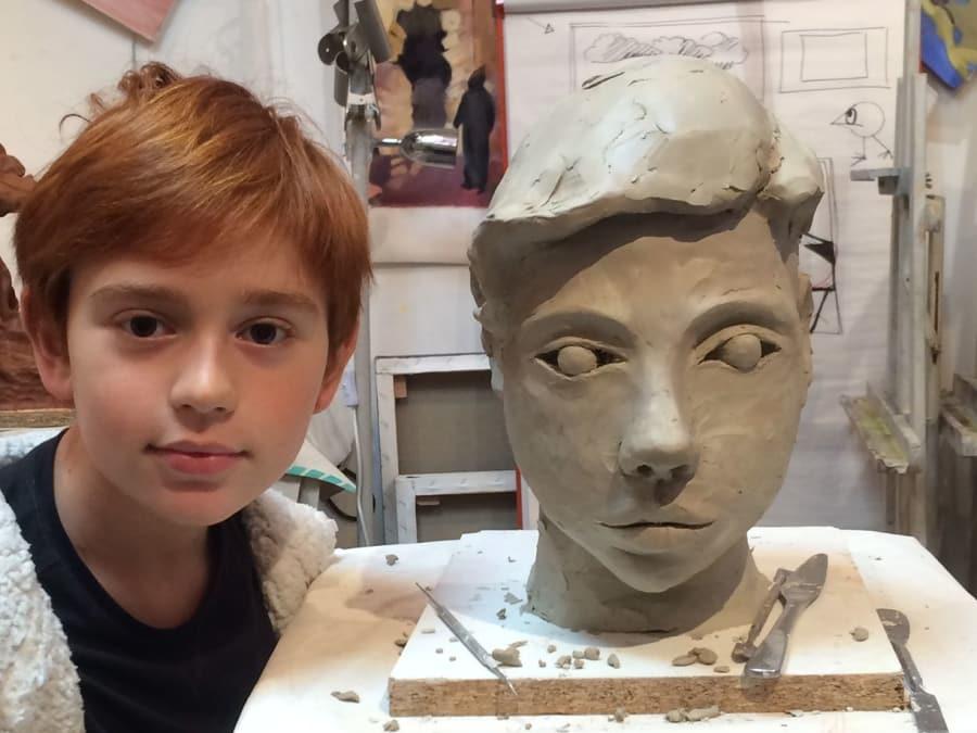Atelier Sculpture Parent/Enfant à Paris 17ème
