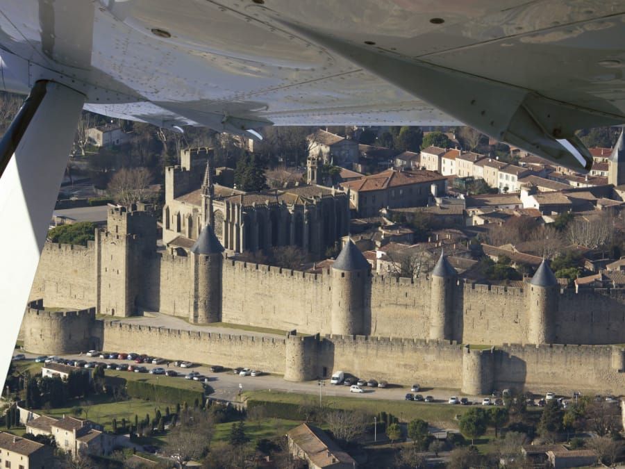 Vol touristique en avion : le Languedoc Roussillon vu du ciel !