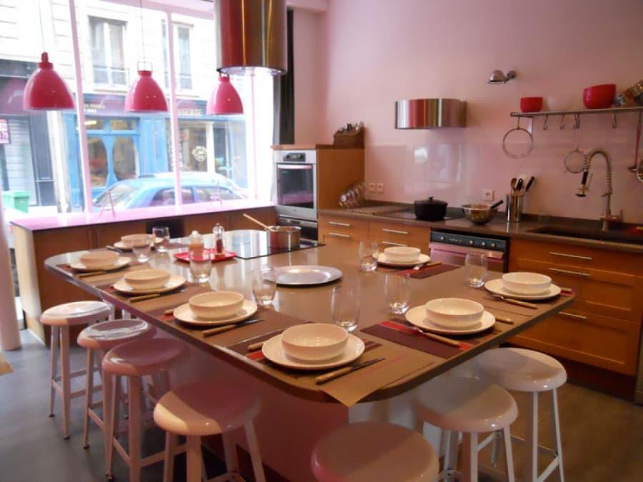 Team Building Atelier de Cuisine et Dégustation à Paris 17e
