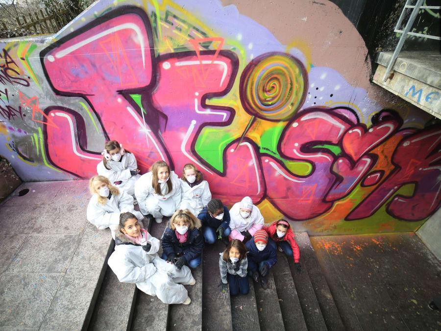 Anniversaire Street Art 8-15 ans dans le Sud-Est