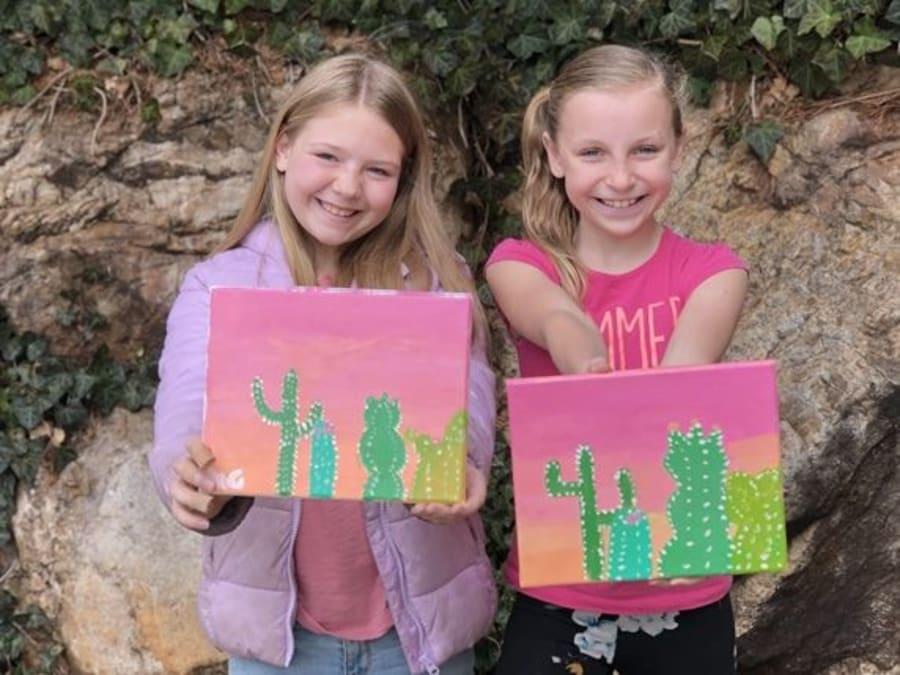 Anniversaire Peinture à domicile à Paris & en province