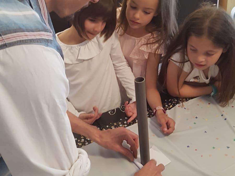 Anniversaire Incroyables Expériences 6-13 ans à domicile (IDF)