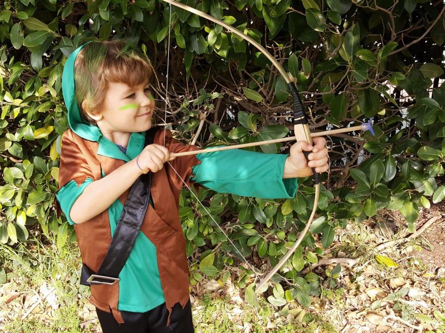 Anniversaire Robin des Bois 3-9 ans à domicile