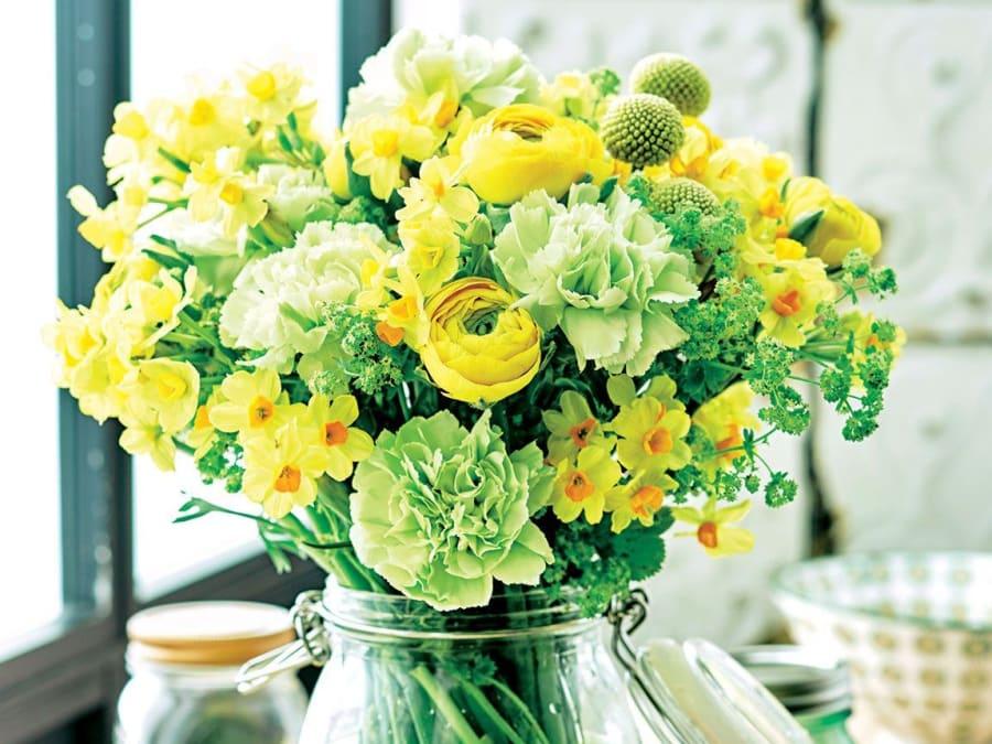 Atelier Création Bouquet de Saison chez Truffaut Ville-du-Bois