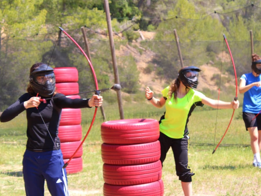 Team Building Archery Tag proche de Sète (Hérault, 34)