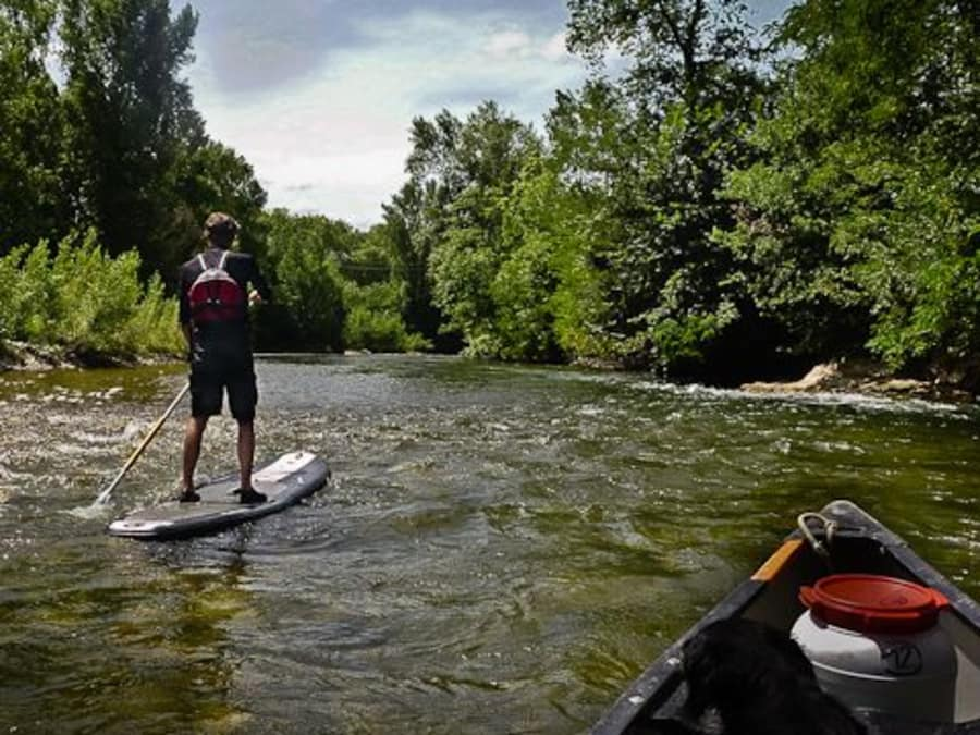 Location de Paddle Board sur la Charente à Taizé-Aizé (16)