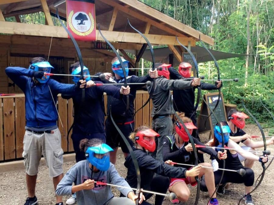 Archery Tag / Game of Bow proche de Paris (Cesson - 77)
