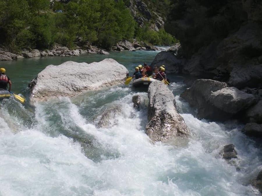 1/2 journée Rafting dans les Gorges du Verdon (04)