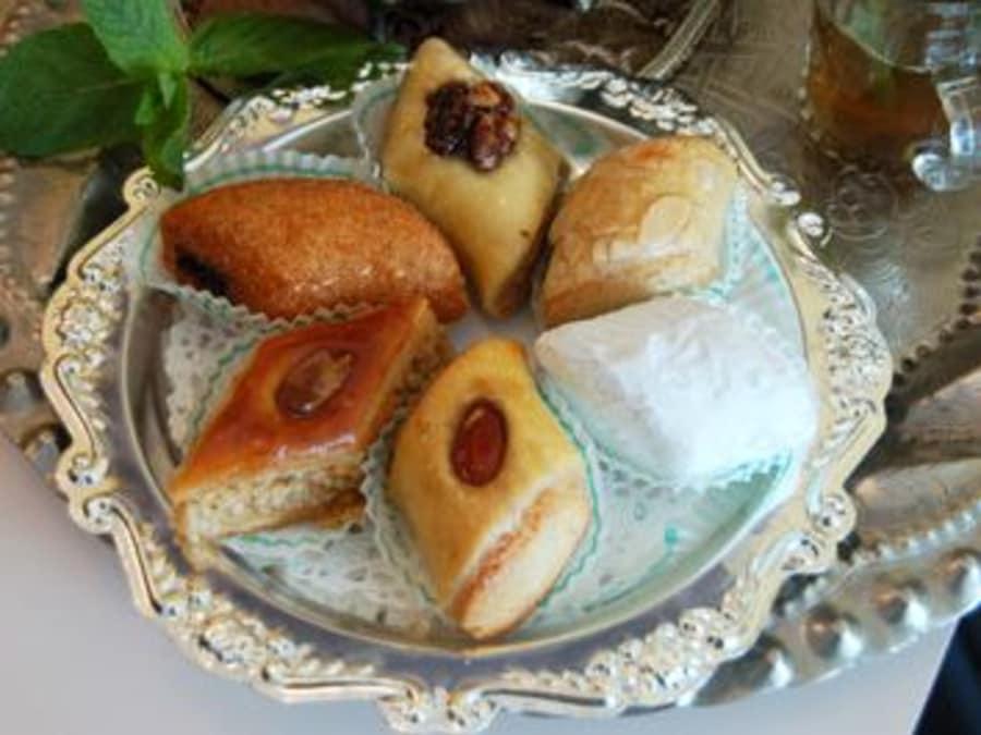 Atelier création de pâtisseries orientales à Bezons (95)