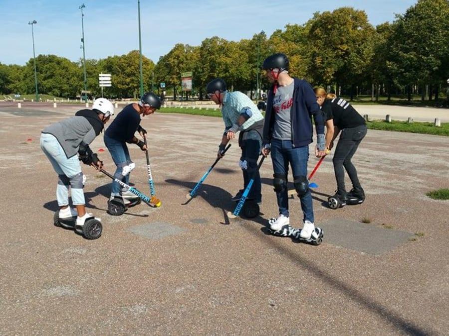 Team Building E-Hockey en plein cœur de Paris