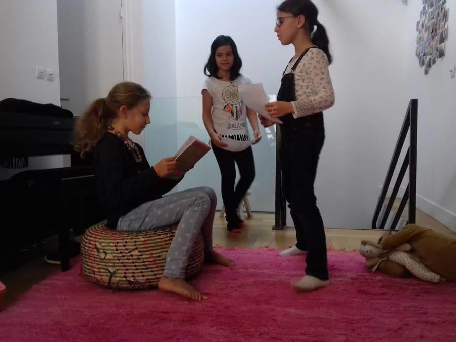 Anniversaire Théâtre pour acteurs en herbe à domicile (IDF)