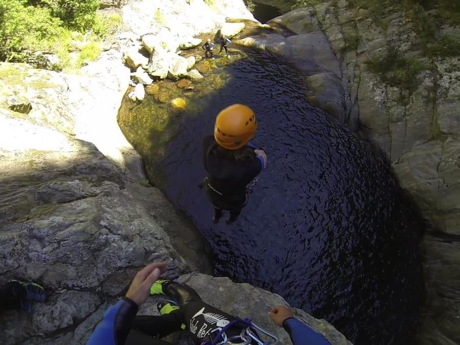 Canyoning Sportif dans les Gorges de Llech