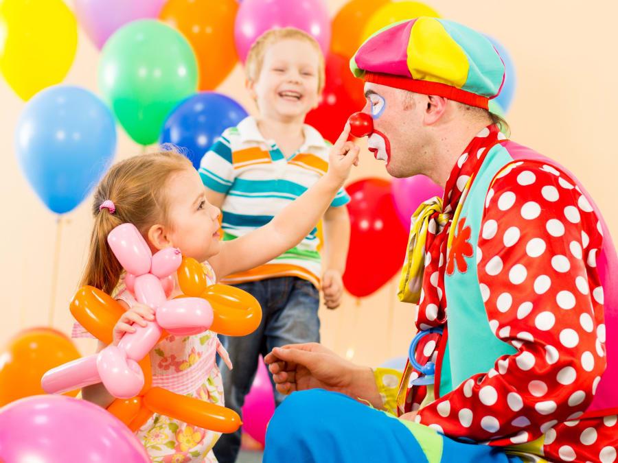 Anniversaire Cirque 3-8 ans à domicile