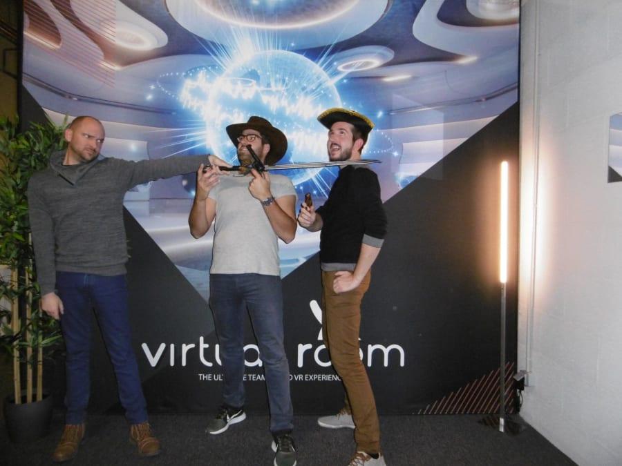 Session de Réalité Virtuelle chez Virtual Room Paris 11ème