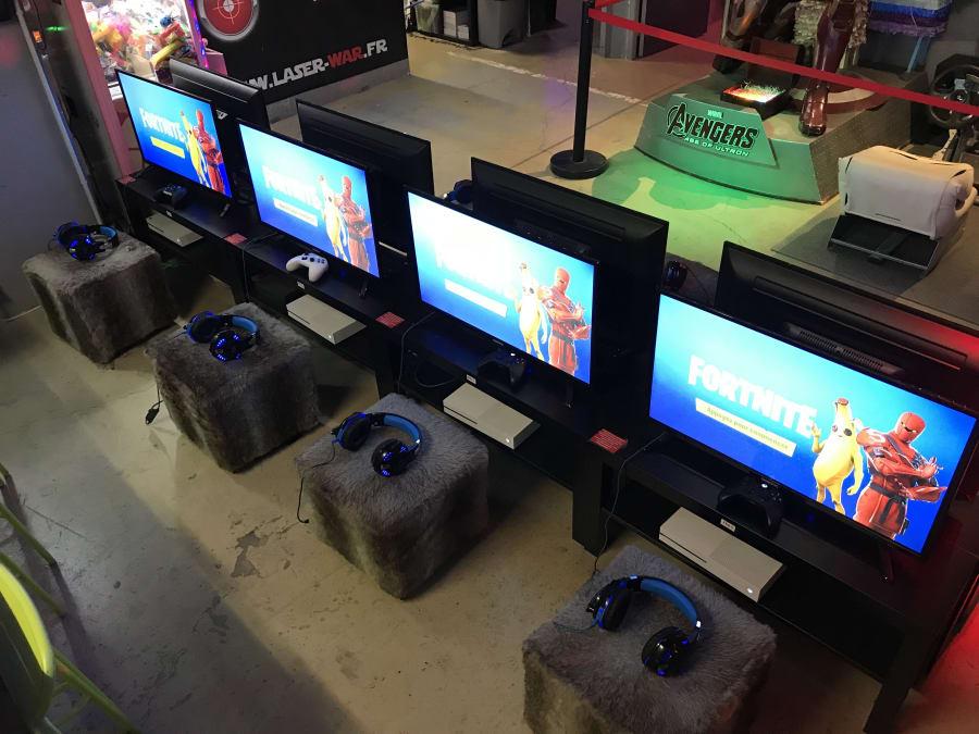 Anniversaire Laser Game Fortnite 7 15 Ans à Meaux 77