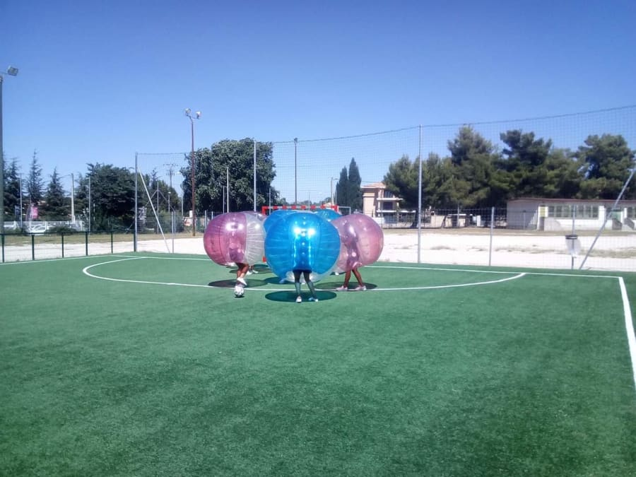 Animation Bubble Foot en région PACA