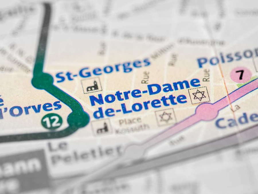 Jeu de piste privatisé à Saint-Georges (75009)