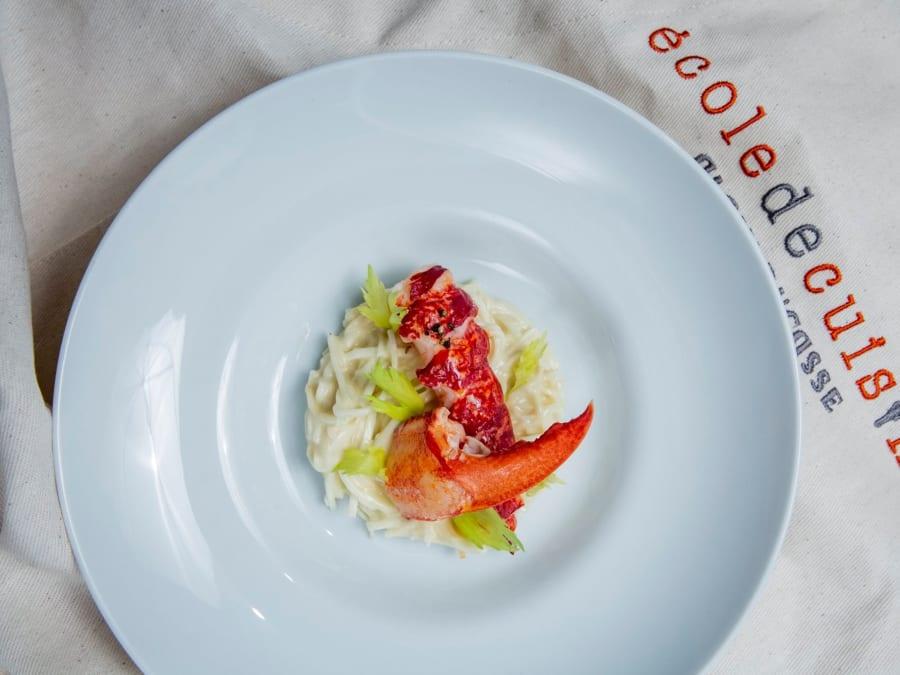 """Cours de Cuisine """"Poissons et Crustacés"""" à l'Ecole Ducasse"""