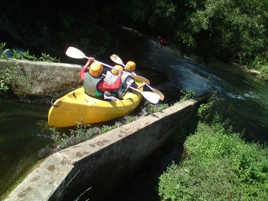 Location de canoë kayak à Taizé-Aizé : descente de La Charente