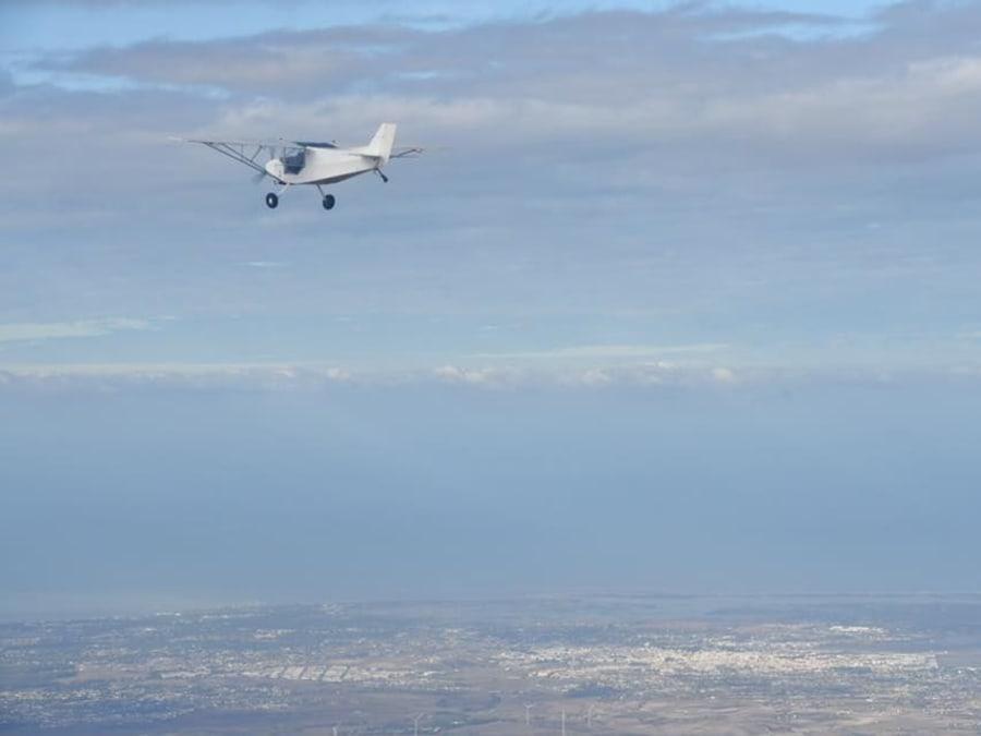 Initiation au pilotage d'ULM au-dessus de Blois (41)
