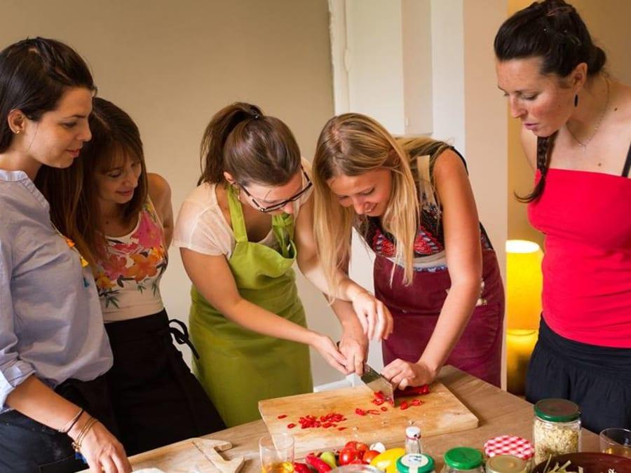 Apprenez la Cuisine Santé en compagnie d'une Chef à domicile