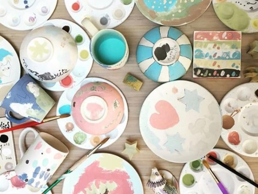 Anniversaire Peinture sur Céramique 3-15 ans à domicile (69)