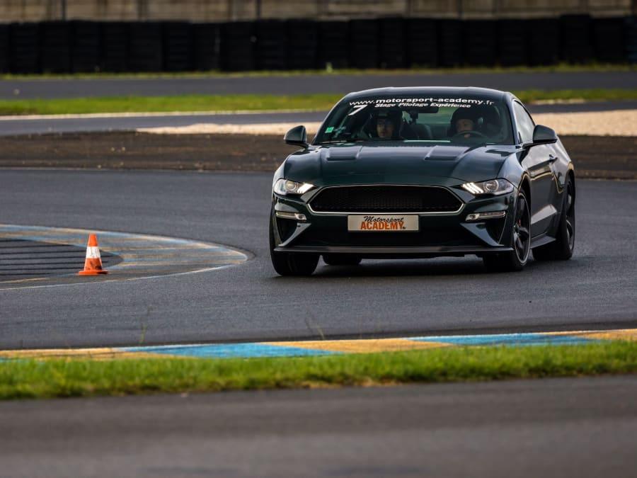 Stage de pilotage Ford Mustang Bullitt- Circuit Fay de Bretagne