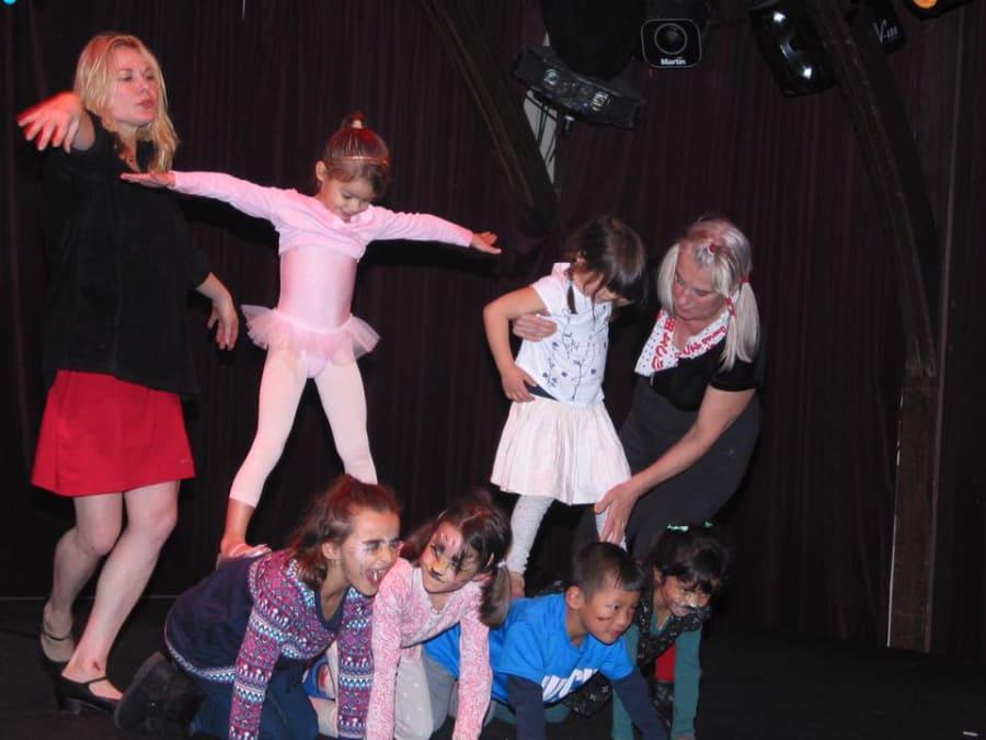 Anniversaire Cirque au Zèbre de Belleville 2-11 ans Paris 11ème