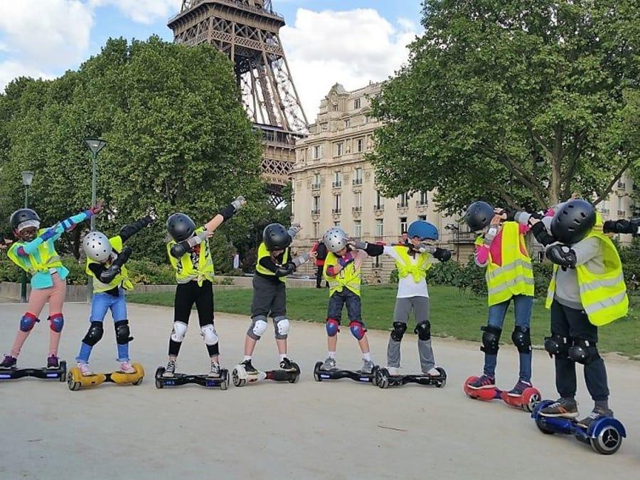 Anniversaire Balade en Hoverboard 8-16 ans à Paris 75001
