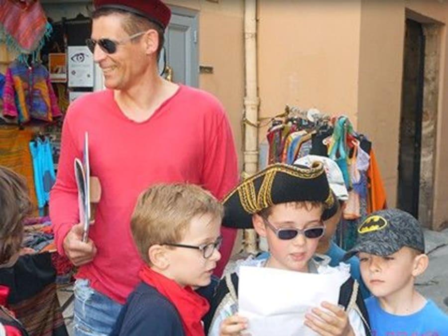Anniversaire Chasse au Trésor 6-14 ans Vieille Ville de Nice