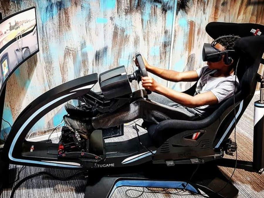 Simulateur de conduite en VR aux Pavillons-sous-Bois (93)