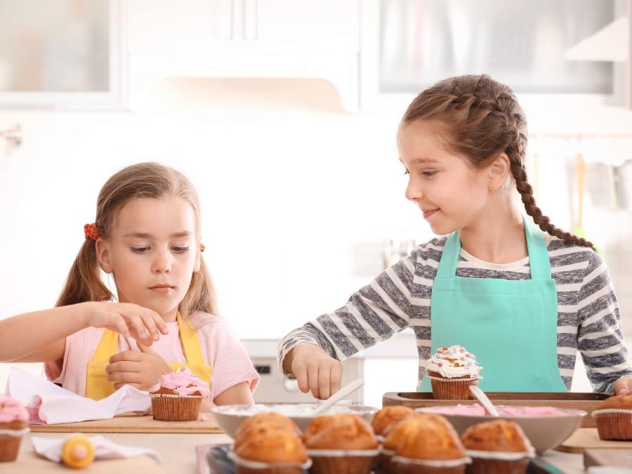 Anniversaire Pâtisserie en Folie 6-12 ans à domicile