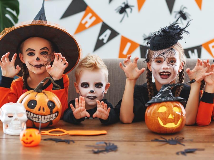 Anniversaire Halloween 3-12 ans à domicile (Île-de-France)