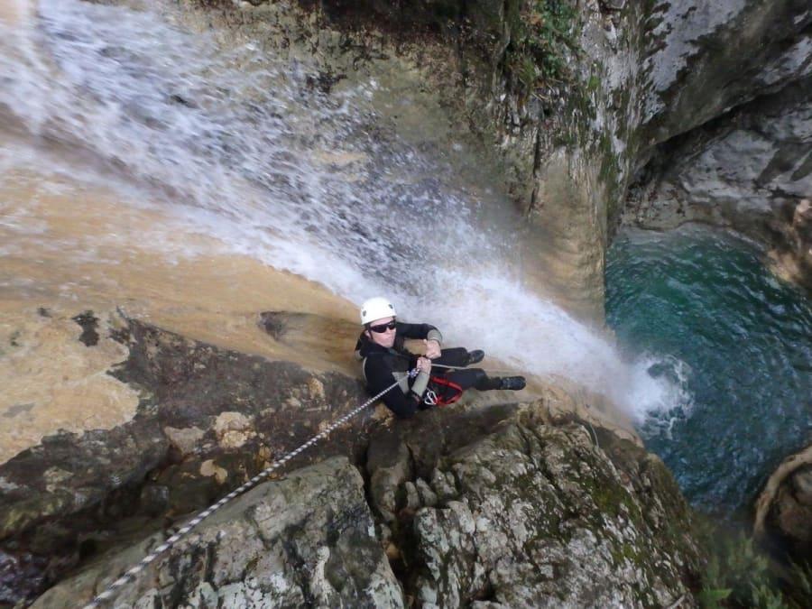 Canyoning dans le Canyon du Versoud proche Grenoble
