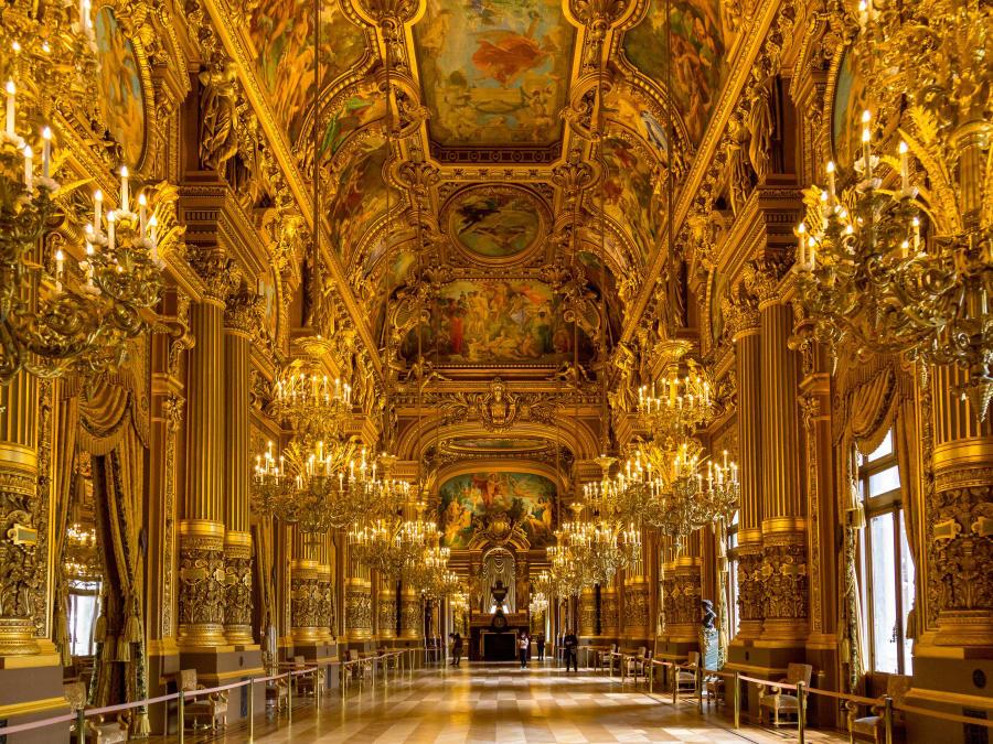 Anniversaire Visite ludique de l'Opéra Garnier à Paris 9ème