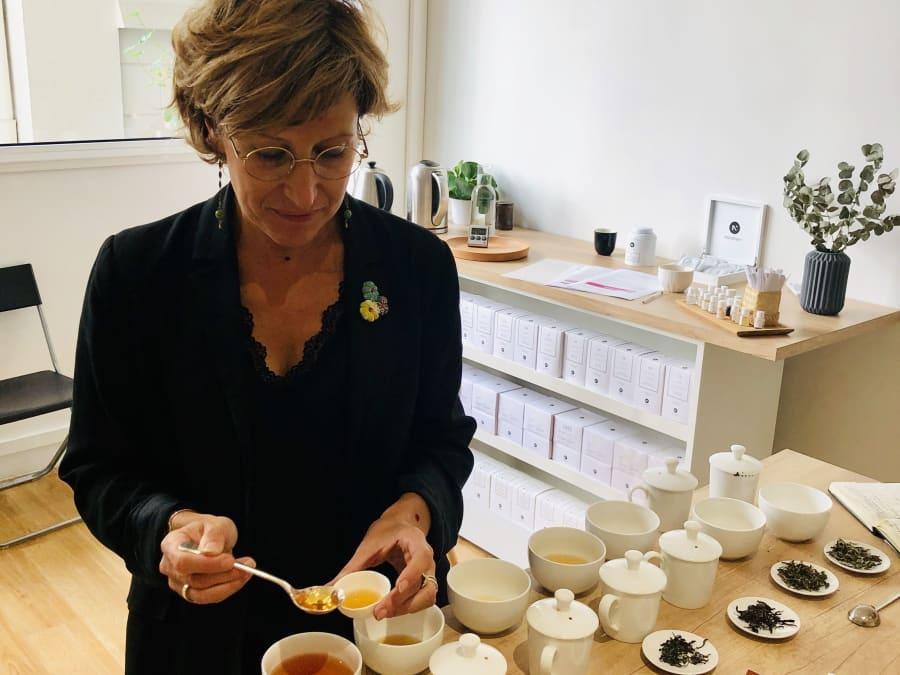 Atelier dégustation de thés à Paris 8ème