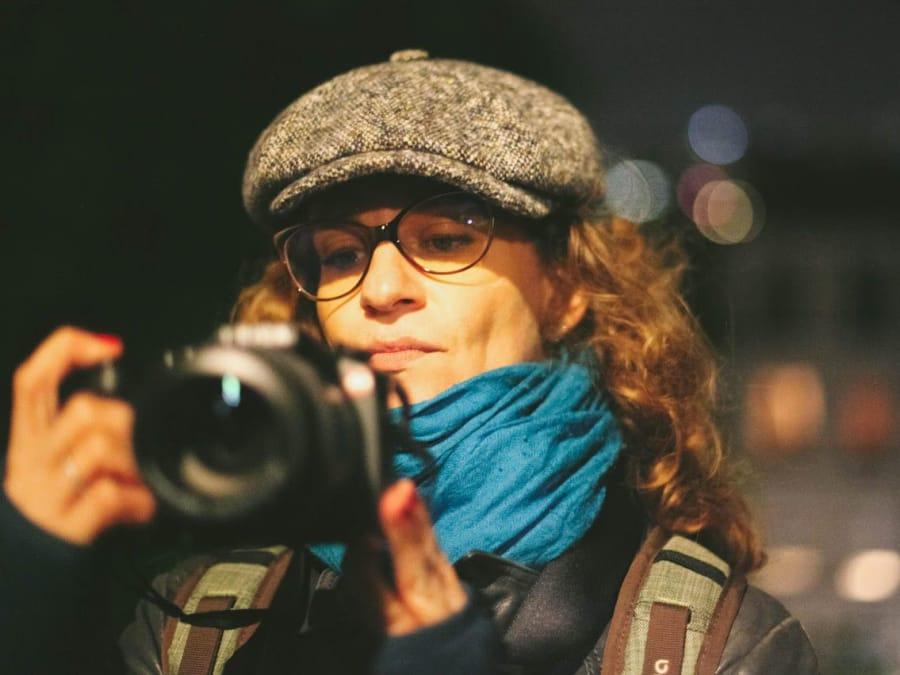 Cours de photo lors d'une balade privée à Paris