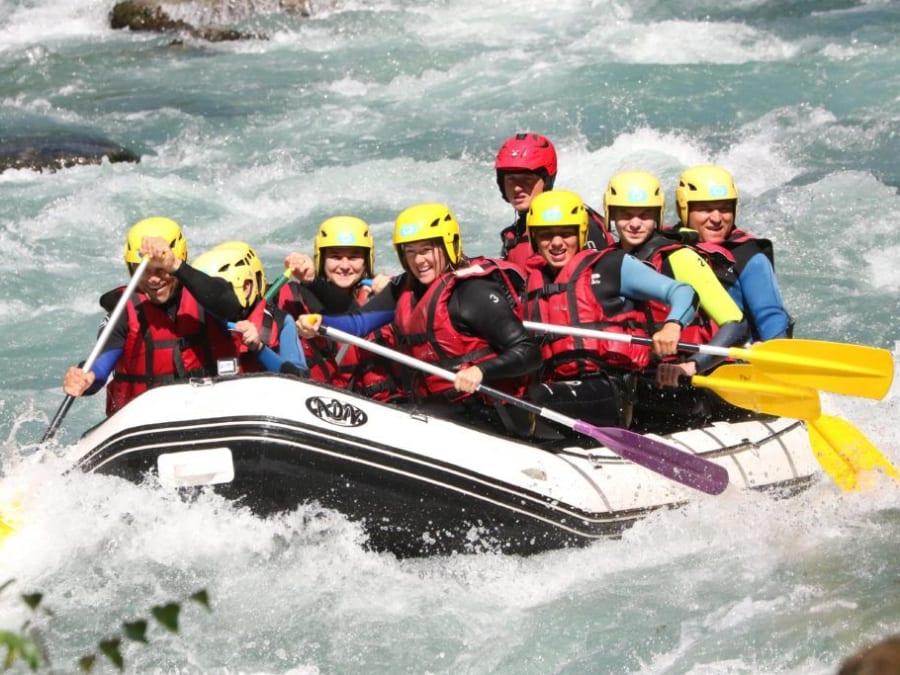 Descente intégrale en rafting de l'Isère (73)