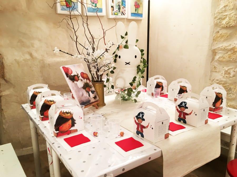 Anniversaire Peinture 4-12 ans à Paris 6ème