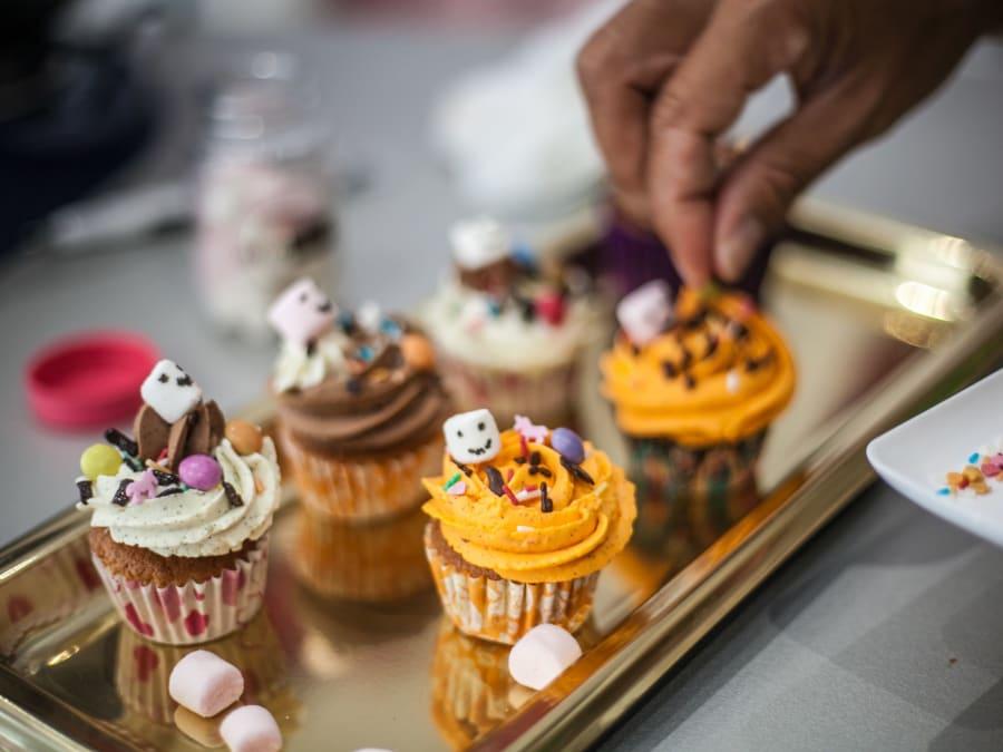Team Building Création de Cupcakes sans gluten-bio  Paris 17ème
