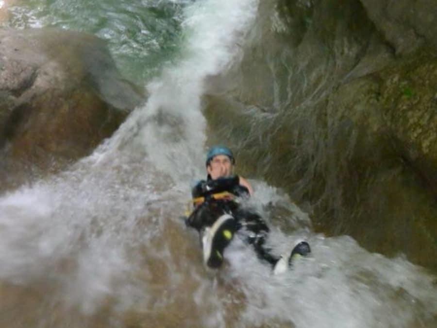 EVG Canyoning  dans le canyon de Ternèze-Boyat (Chambéry-73)