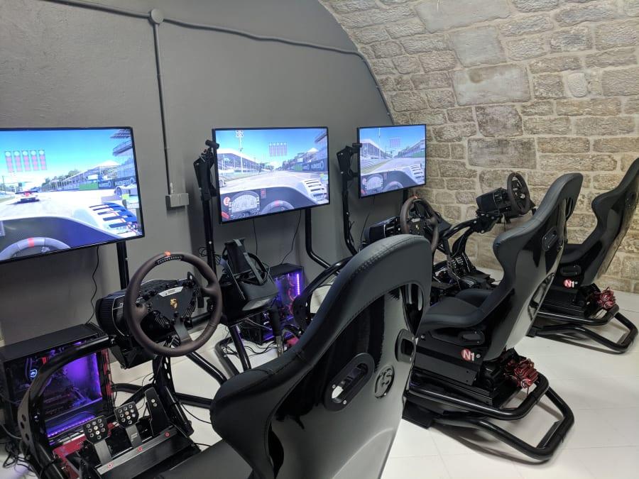 Simulateur de F1 en Réalité Virtuelle à Paris