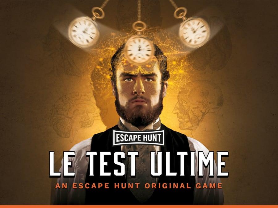 """Escape Game """"Le Test Ultime"""" à Nancy (54)"""
