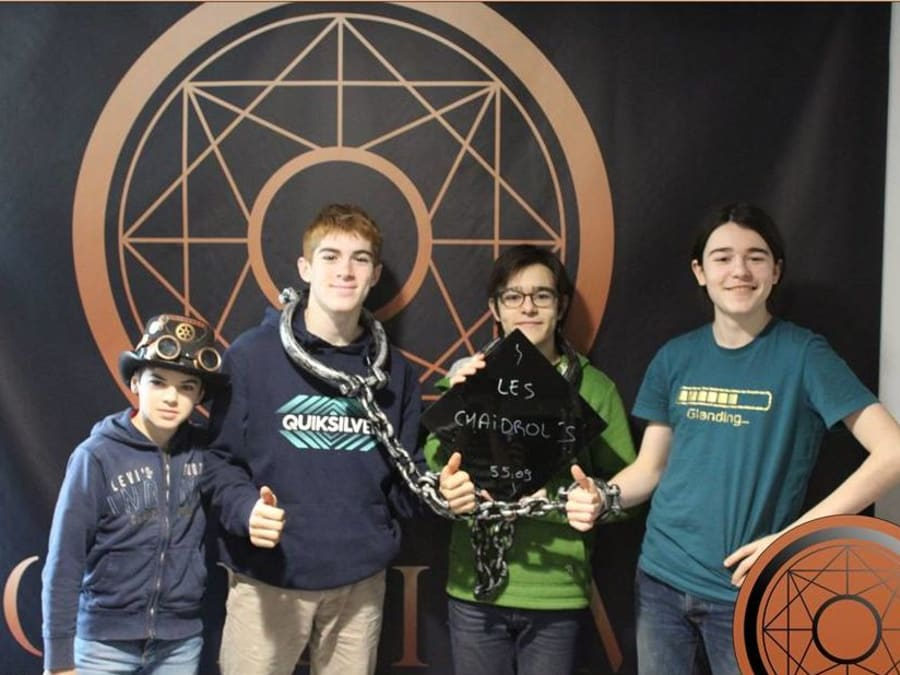 Anniversaire Escape Game 10-16 ans à Nantes