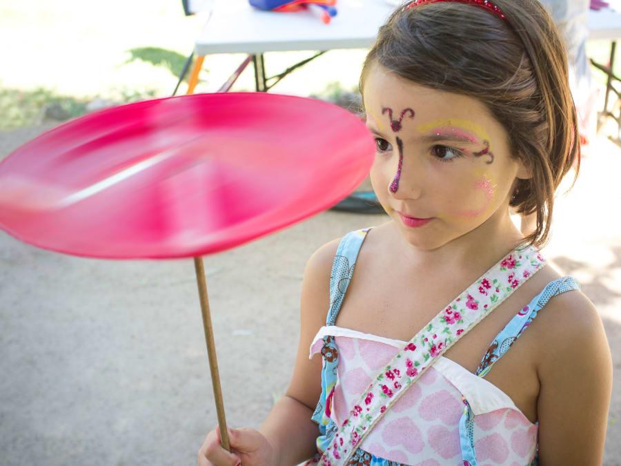 Spectacle & Atelier Cirque pour enfants en entreprise