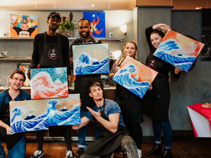 Team Building Atelier de Peinture avec un Artiste Professionnel