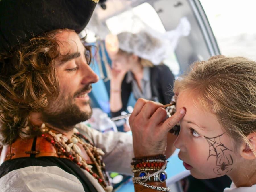 Anniversaire Pirate 3-8 ans à domicile (IDF)