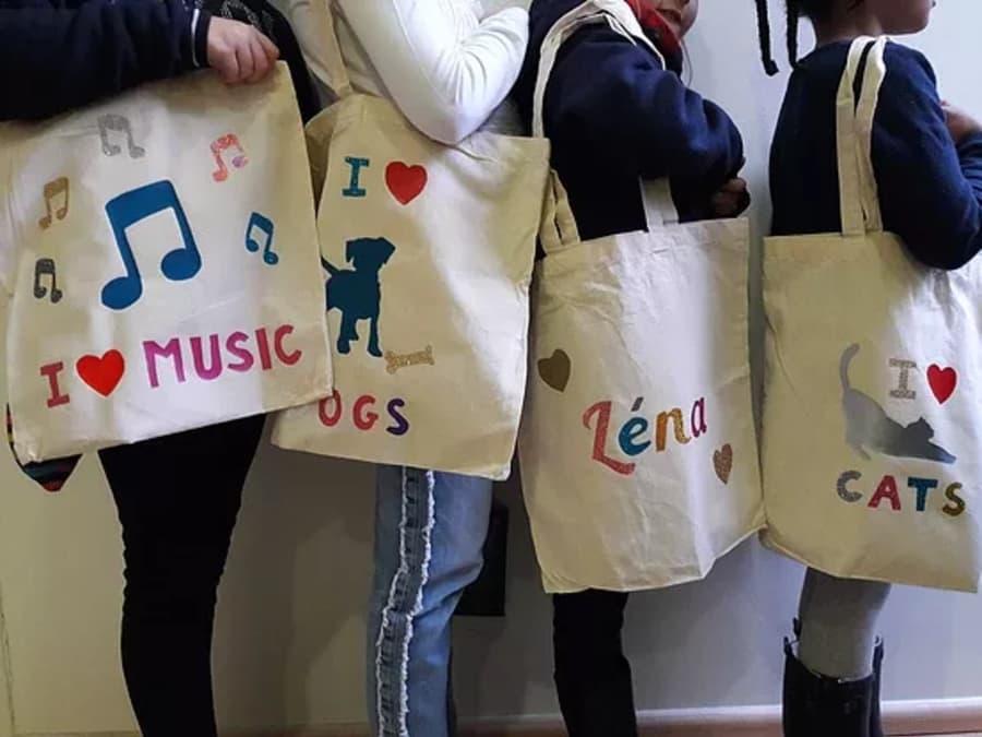 Anniversaire customisation Tee-shirt & Tote-bag à Lyon 3ème